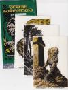 Sběratelské karty - Bernie Wrightson - Fantasy art stickers