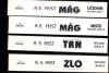 Trhlinové války komplet 1 - 4 1. vyd. ant.