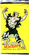 Sběratelské karty - Mike Ploog Stickers