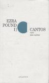 Cantos I – Part XXX Cantos ant.