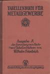 Tabellenbuch Für Metallgewerbe ant.