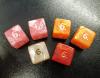 Kostka šestistěnná K6 perleťová